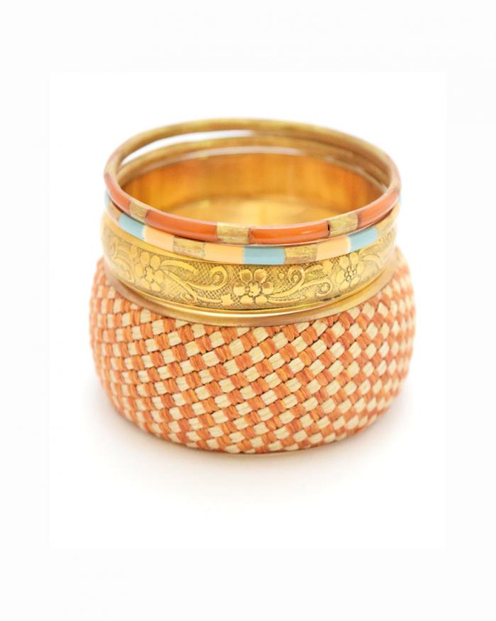 Dawn Mat Bangle Set